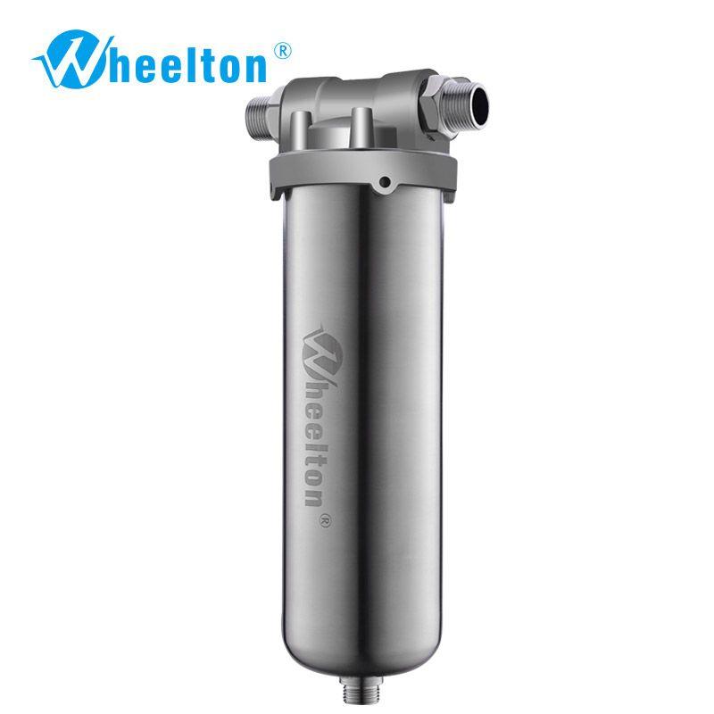 Wheelton SUS304 Wholehouse Pre Wasser Filter Filter Sediment Rost Schützen Hause Wasser 8000L/H Genug für Kaffee Shop Freeshipping