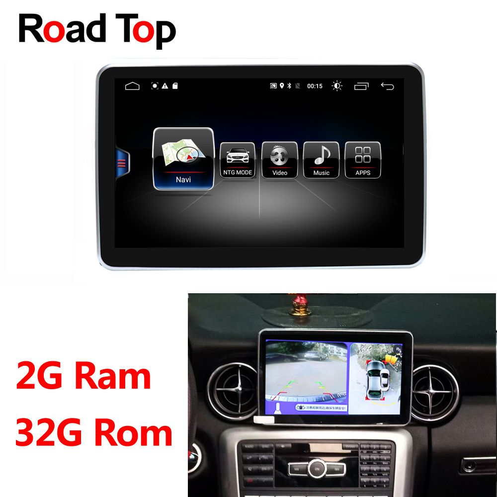 Android Display für Mercedes Benz 2011-2015 SLK 200 250 300 350 55 AMG Auto Radio Multimedia Monitor GPS navigation Bluetooth