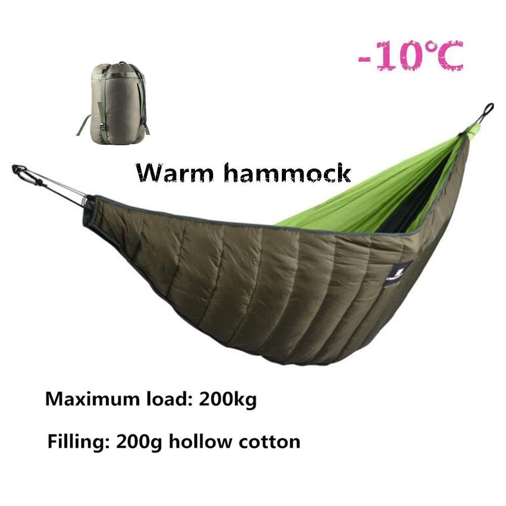 Mounchain Winter Warme Schlafsack Hängematte Underquilt Schlafsack Wärmer Unter Quilt Decke für Outdoor Camping wandern