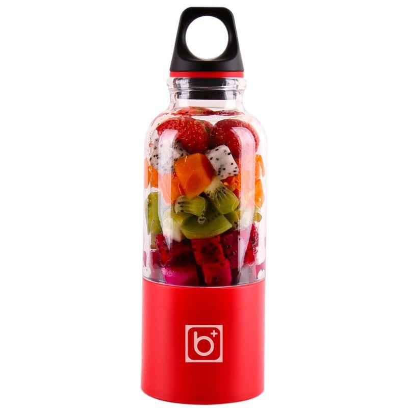 Top Vente 500 ml Portable bol de presse-agrumes USB Rechargeable Automatique Bingo Légumes Jus De Fruits Outils Maker Tasse mixeur batteur Bouteille