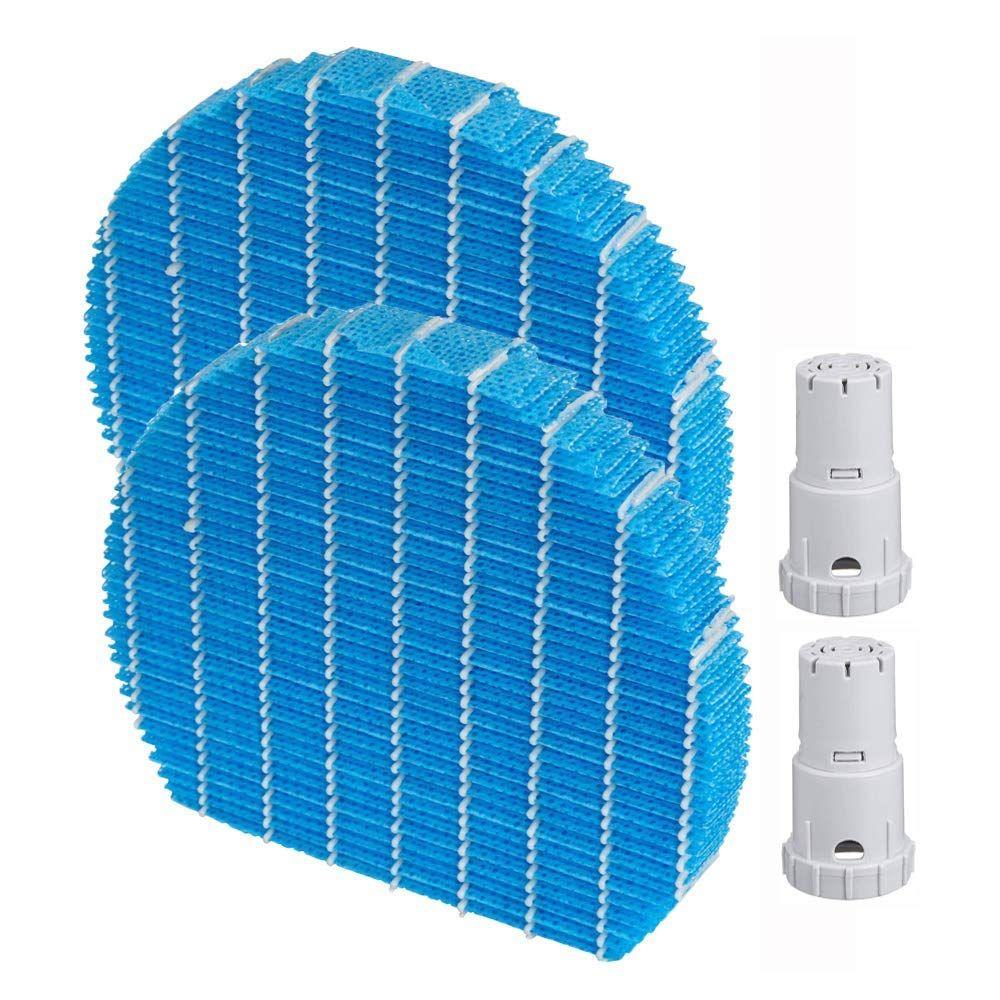 Chaude pièce De Rechange 2 Ensemble pour purificateur d'air Humidification filtre FZ-Y80MF & Ag + ion cartouche FZ-AG01K1 (compatible point)