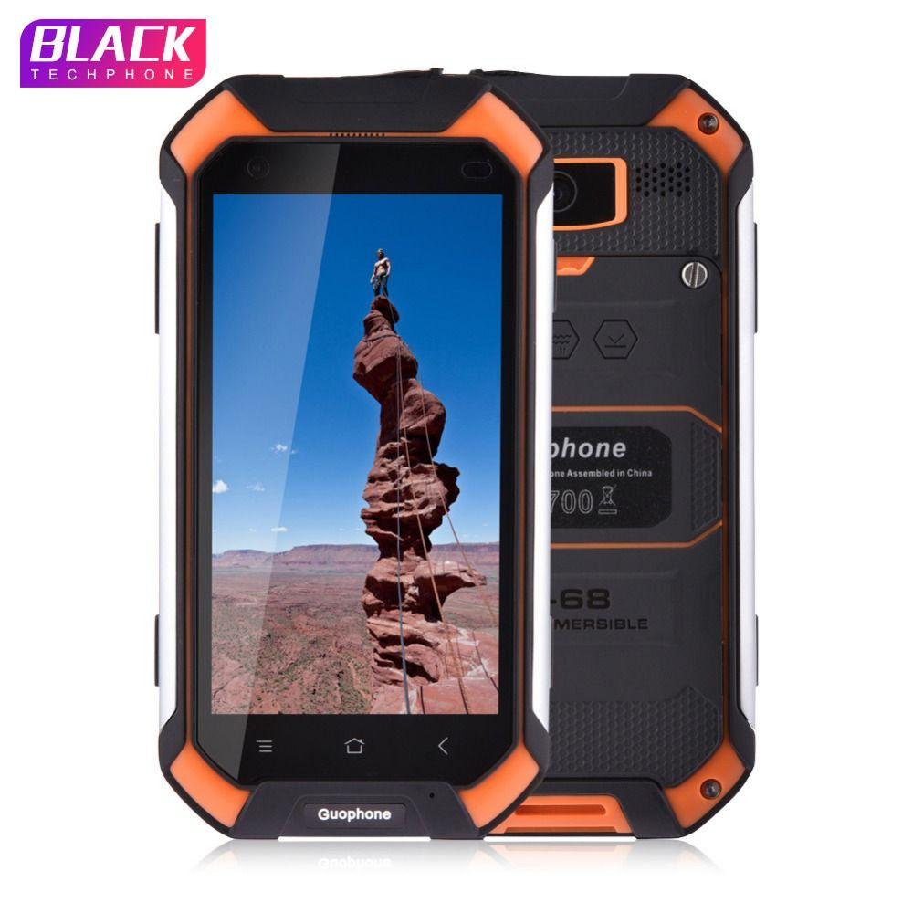 Guophone V19 smartphone 4.5 inch 2GB 16GB IP68 waterproof shockproof phone MTK6580 Quad Core GPS 3G Android smartphone