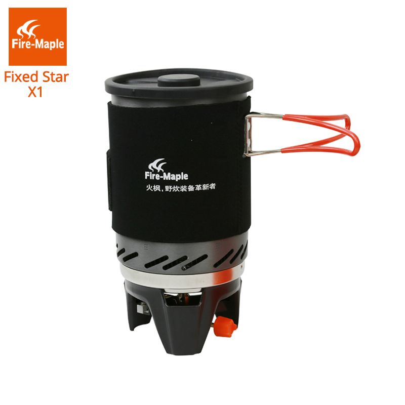 Fire Maple Fixed Star 1 Personal Cooking System Outdoor Hiking <font><b>Camping</b></font> Equipment Oven Portable Propane Gas Stove Burner FMS-X1