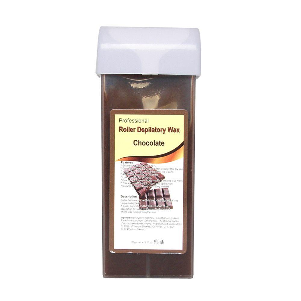00E 1PC Gold Roll On Hot Depilatory Wax Cartridge Heater Waxing Hair Removal Remove Jun30 MG Drop Shipping