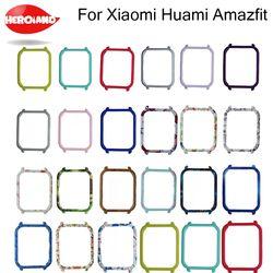 Para el caso de xiaomi huami amazfit bip juventud poco reloj sustituya la cubierta protectora Shell para amazfit Smart Watch Accesorios