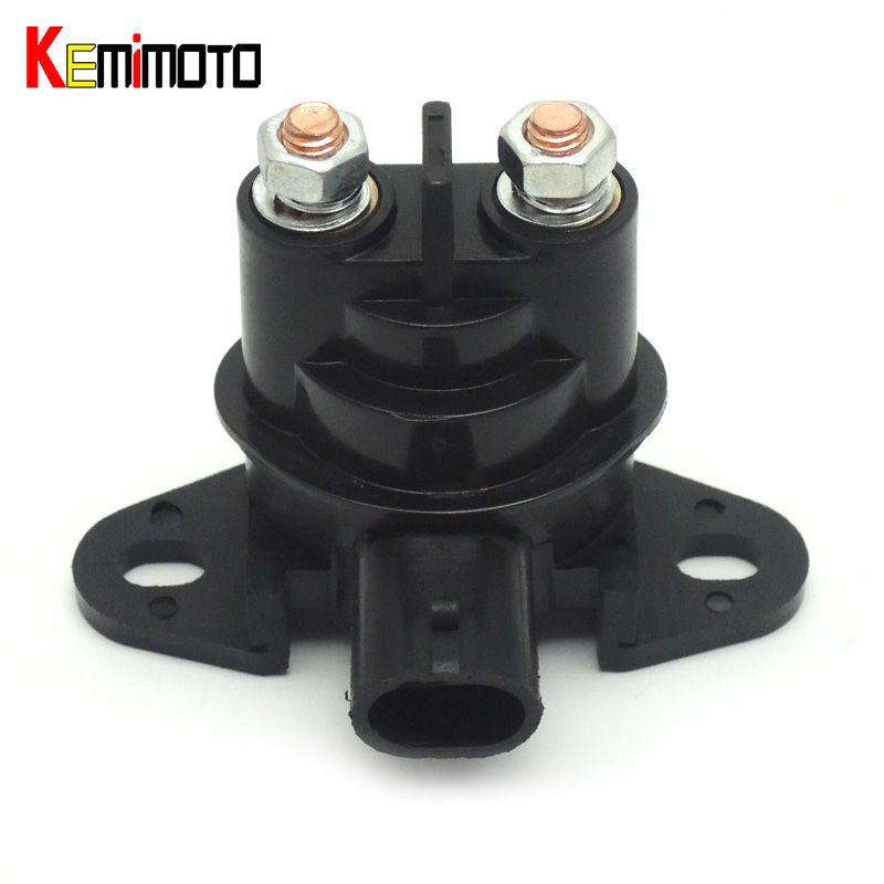 KEMiMOTO Starter Relay fit for Seadoo 278001802 GTI LE RFI GTX 4 TEC XP DI RXP SE 3D 947 DI 2006 GTI RENTAL 2006