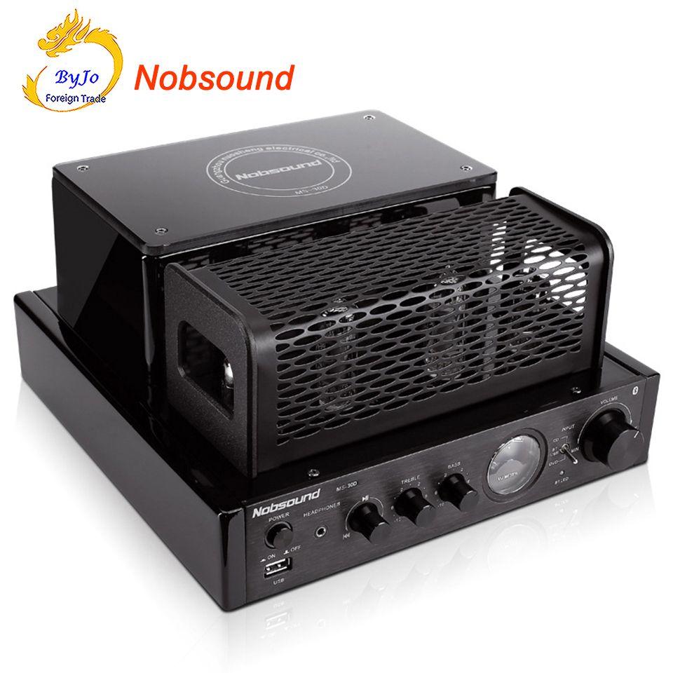Новый nobsound ms-30d Hi-Fi Bluetooth трубки Усилители домашние 25 Вт + 25 Вт 110 В 220 В Поддержка USB Мощность Усилители домашние ms-10d MKII обновления