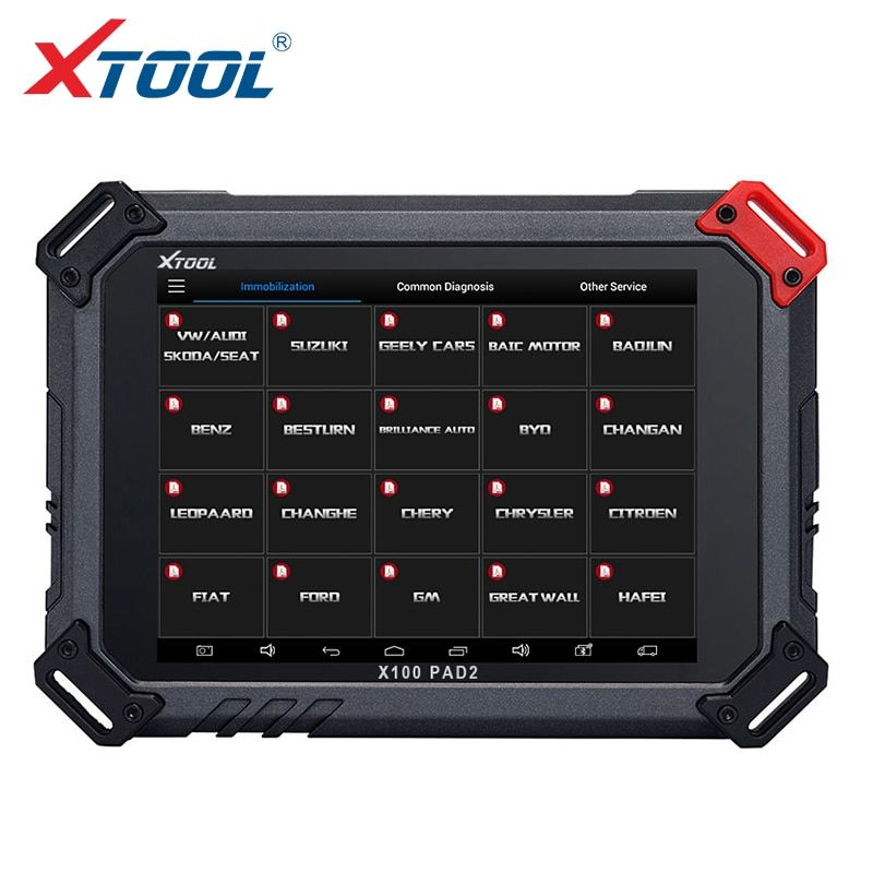 2018 XTOOL X100 PAD2 OBD2 Auto Key Programmer Odometer Correction Tool Code Reader Car Diagnostic tool with Special Function