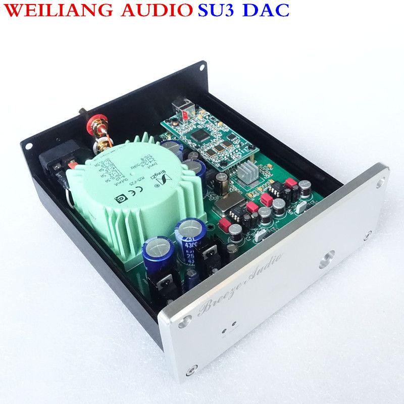 WeiLiang Audio et Brise audio SU3 ESS9018 asynchrone USB décodeur DAC