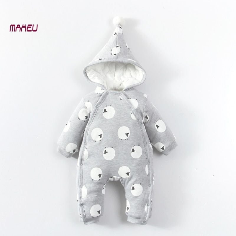 Newborn Baby Rompers Baby Boy Girl Clothes Fashion Autumn Winter Cotton Infant Jumpsuit Long Sleeve Rompers Costumes Baby Romper