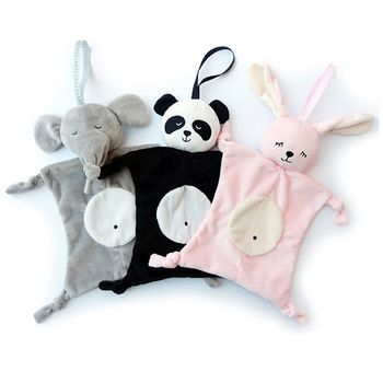 Новорожденных Blankie успокаивающее полотенце Игрушки для маленьких детей в форме животных младенческой подарок мягкие Soothe полотенца развива...