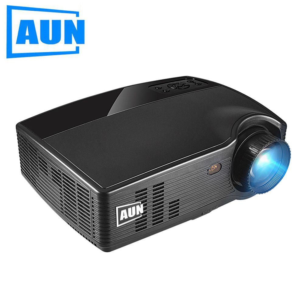 Аун HD проектор ph10, 3500 люмен светодиодный проектор, (дополнительный Android 6.0 проектор, Bluetooth WI-FI) full HD видео мультимедиа ЖК-дисплей ТВ