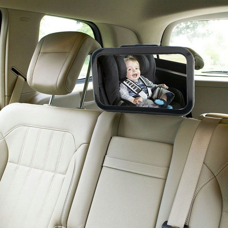 Car Safety Easy View Back Seat Mirror Baby Facing Rear Ward Child Infant Care Square Safety Baby Kids Monitor Hot Selling