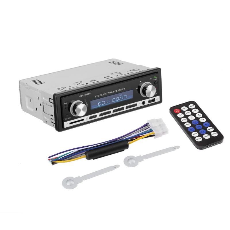 Car Radio Stereo Player 1Din MP3 MP5 Multimedia Autoradio Car Audio Player with Bluetooth Remote Control USB AUX FM Car Styling