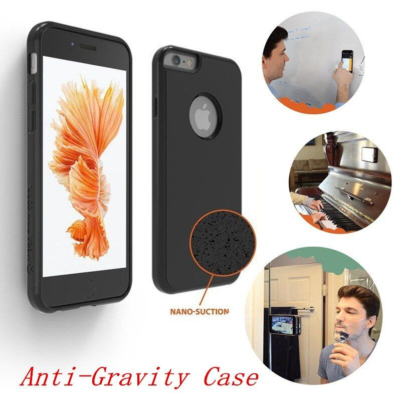 Anti Gravity Luxury Coque Case For Samsung Galaxy S8 Plus S5 S6 S7 Edge Note 8 4 5 7 Case For Iphone X 7 6 s 6s 8 Plus 5S Cover