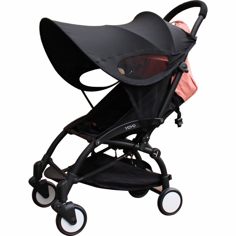 baby stroller 99% UV UVB sun rays cover sunshield pram canopy sun shade protection hoods buggy pushchair stroller accessories