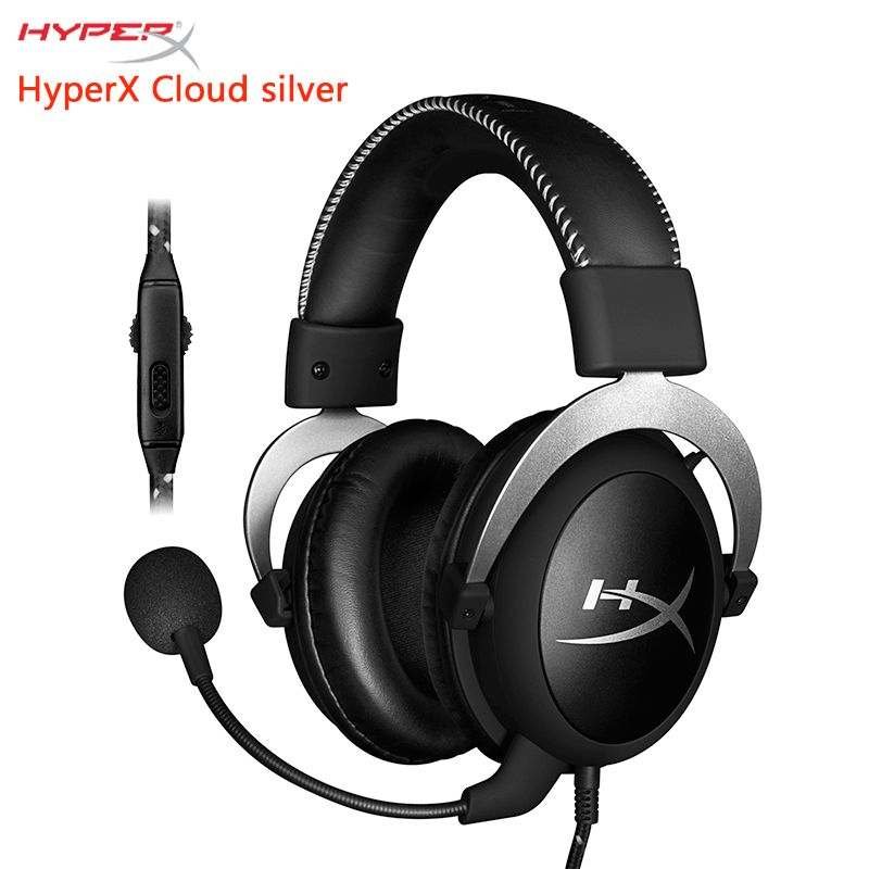 KINGSTON HyperX Cloud series Gaming Headset Suitable for computer phone <font><b>tablet</b></font> Headphones With microphone