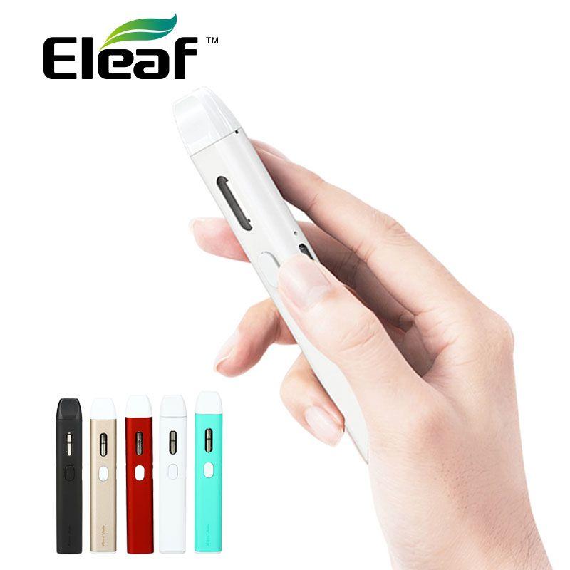 Original eleaf Icare solo Starter Kit 320 mAh batería tanque cabeza IC 1.1ohm simple vaping cigarrillo electrónico portátil