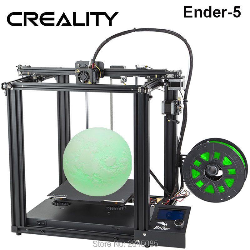 CREALITY 3D Drucker Creality Ender-5 mit Landy stabile Power, magnetische bauen platte, power off lebenslauf