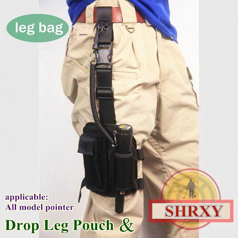SHRXY Pointer Metal <font><b>Detector</b></font> Holster Drop Leg cloth Cover Pouch for Xp Garrett Pro Pointer <font><b>detector</b></font> ProFind Fitting cloth Bag