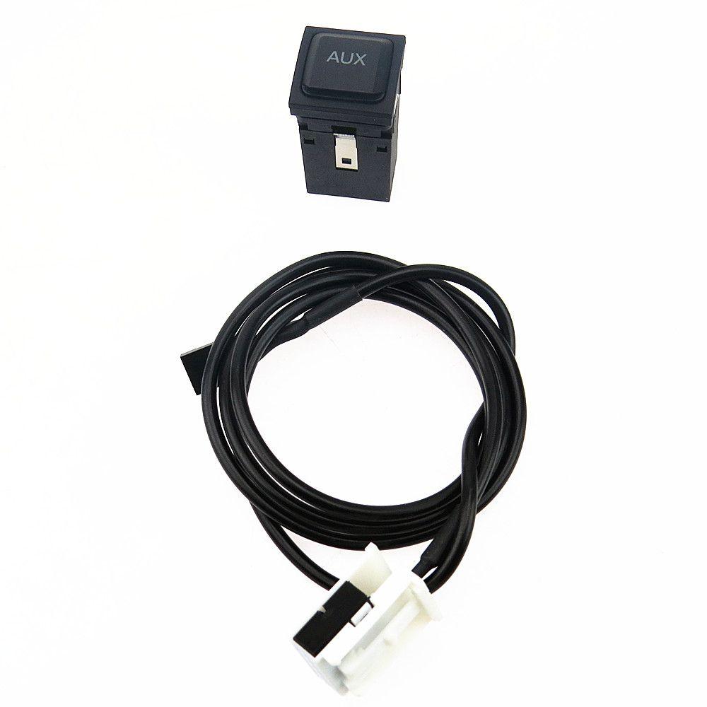 DOXA AUX Schalter Stecker Adapter Usb-anschluss Kabelbaum Für VW Golf GTI R MK5 MK6 Jetta 5 GLI Scirocco Kaninchen Lapin 5KD035724A