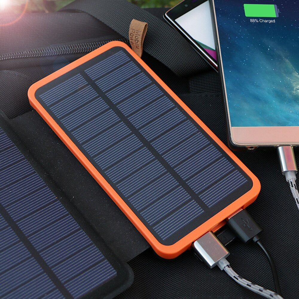 20000 mah Solar Power Bank Hohe Kapazität Echt Solar Lade Power Bank Im Freien Gebrauch für iPhone iPad Samsung LG HTC sony ZTE.