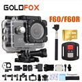 GOLDFOX F60/F60R 4K WIFI Action Camera 1080P/60fps Ultra HD Sports Camera Go Waterproof DV Camcorder 16MP 170 Degree Wide Angle