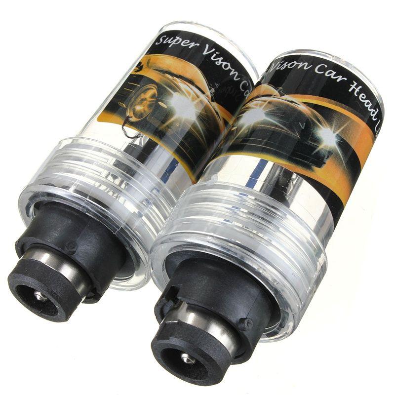 Высокое качество 2X D2R 35 Вт авто для Ксеноновые Замена лампы фар источник света 4300 К 5000 К 6000 К 8000 К 12000 К