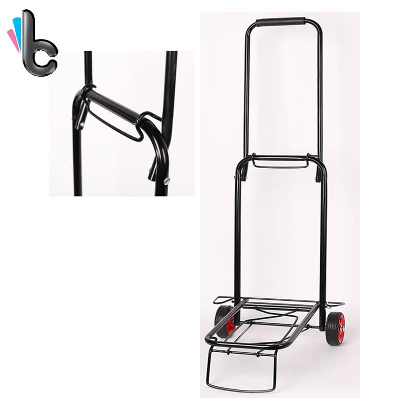 110 Lbs Lightweight Folding Hand Truck Cart Trolley for Hotel Home Transport Grocery