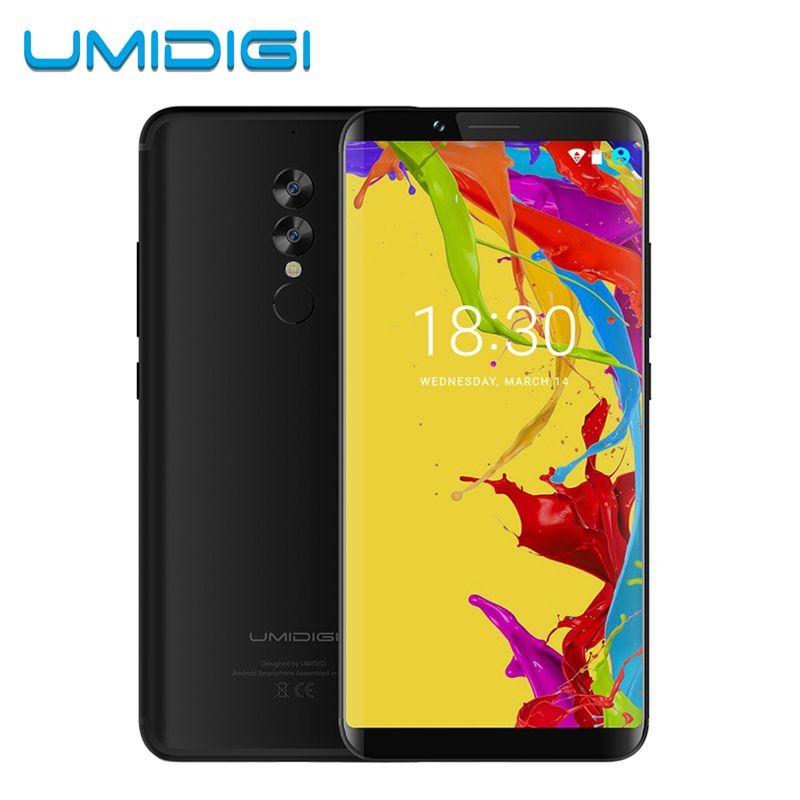 UMIDIGI S2 Lite 18:9 Full Screen Smartphone Face ID 32GB ROM 16MP+5MP Camera 5100Mah Dual SIM Android 7.0 4G LTE Mobile Phone