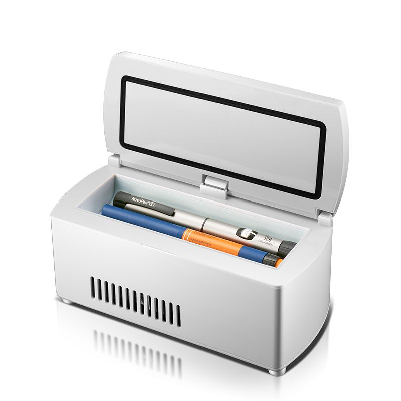 KEMIN 5L Mini Fridge Rapid Refrigeration Portable Car Medicine Insulin Drug Freezer Refrigerator LED Display Temperature Control
