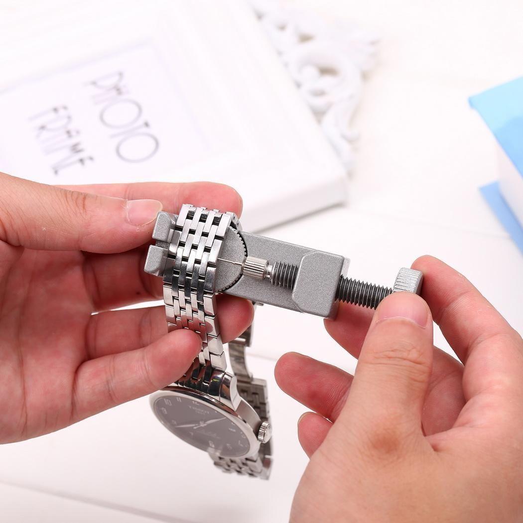 Professionelle Uhr Band Link Pin Einstellbare Metall Remover 3 Pins Reparatur Werkzeug B3 Uhr Band Armband Armband Teile Reparatur Werkzeug