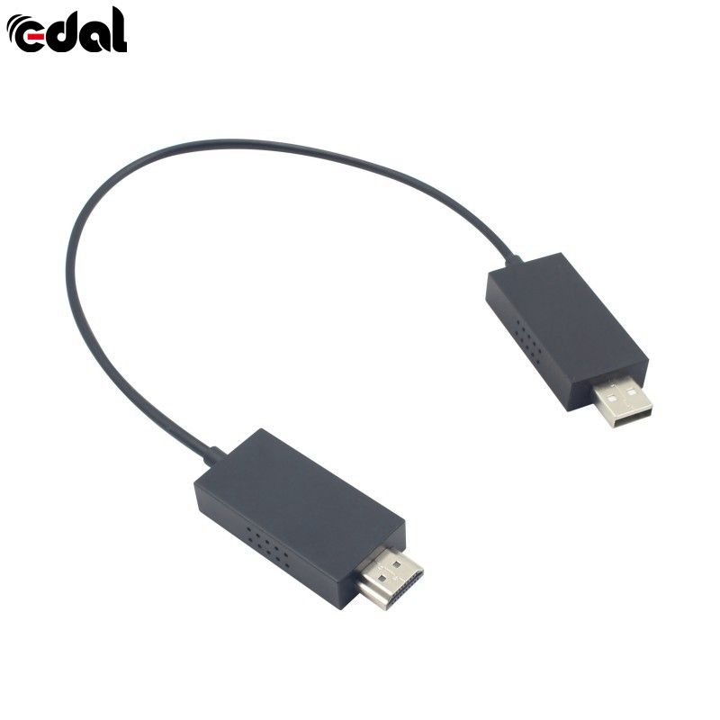 EDAL Wireless Display Adapter For Microsoft HDMI Video HD TV Stick Dongle Receiver Media Streamer For Computer Laptop Phone