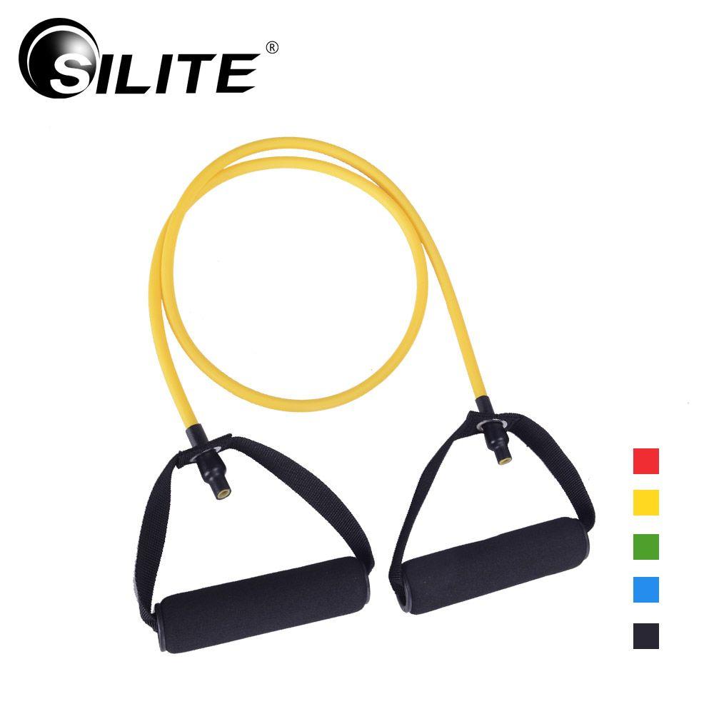 Silite Crossfit тянуть веревку Эспандеры тренировки тренажер 10-30lbs груди Фитнес оборудовать Для мужчин t латекс расширители трубы Для мужчин