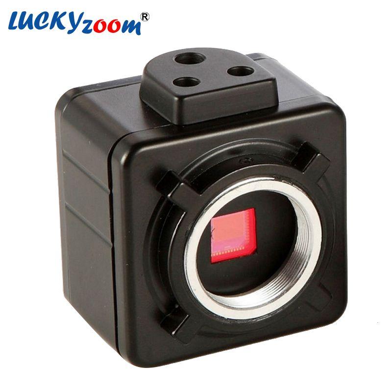5MP USB CMOS Камера электронные цифровые окуляр микроскопа Бесплатная драйвер/измерения Программное обеспечение высокого Разрешение для Win10/7/ ...