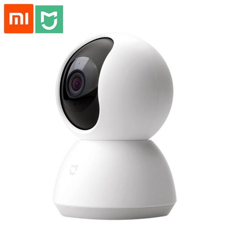 Xiao mi mi Intelligent Webcam Populaire Version 360 Angle 1080 p HD de Vision Nocturne Sans Fil Wifi IP Webcam Maison Intelligente cam APP Pour la maison intelligente