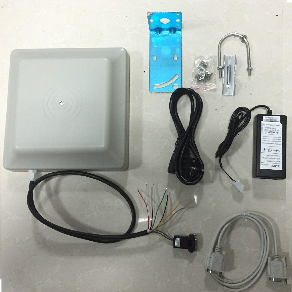 Zutrittskontrollsystem uhf rfid long range reader mit Wiegand/RS232/RS485 schnittstelle bieten kostenlose musterkarte mit kostenlose sdk