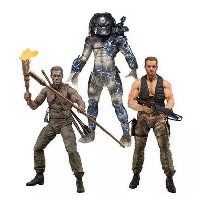 Predators 25th Predator Water Emergence Jungle Disguise Encounter Dutcch PVC Action Figure Collectible Model Toy 7