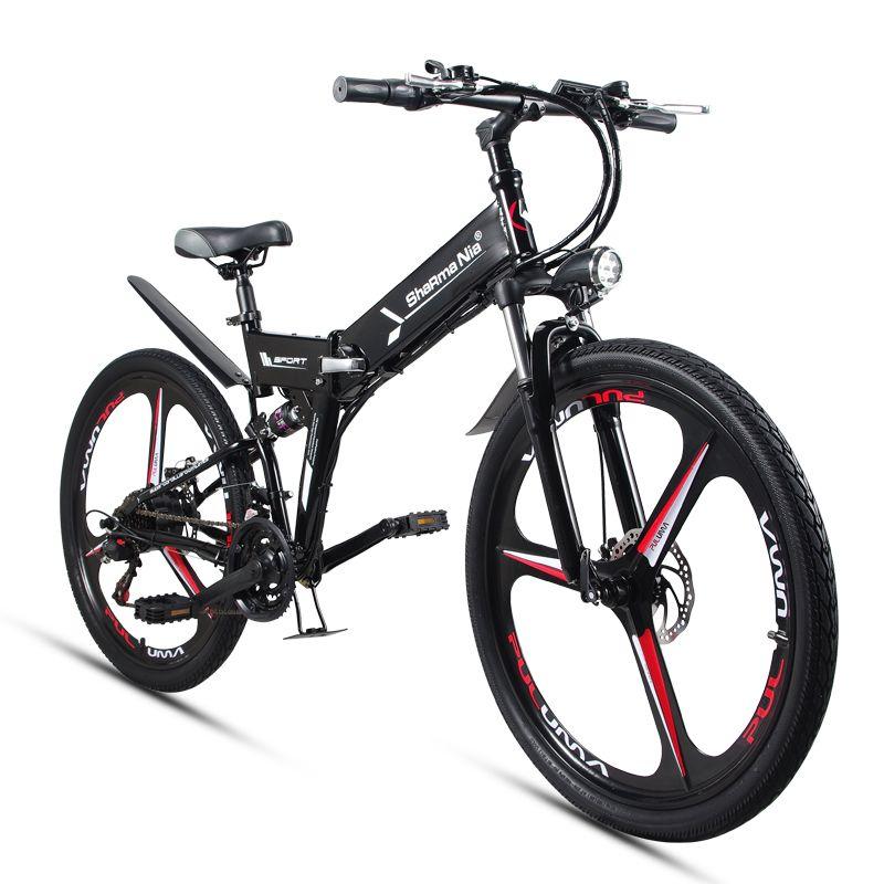 26 zoll falten elektro mountainbike 48 V 350 Watt hoher geschwindigkeit ebike Abnehmbare lithium-batterie Reise unterstützt elektro-bike