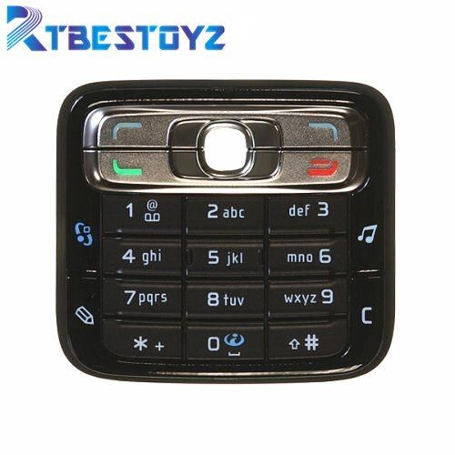 RTBESTOYZ Keypad Keyboard Buttons Cover Case Housing For Nokia N73