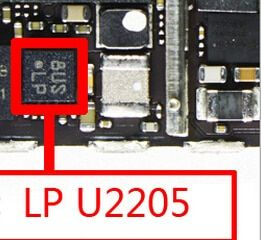 10pcs/lot for iPhone 6 6plus Gravity ic LP U2205