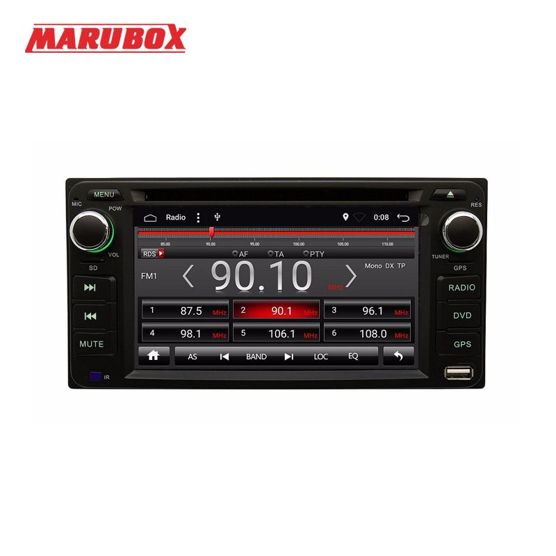 Marubox 6A100DT3 Android 7.1 Quad Core Car DVD GPS Radio For Toyota Universal RAV4/Corolla/HILUX/Land Cruiser/Prado/Fortuner