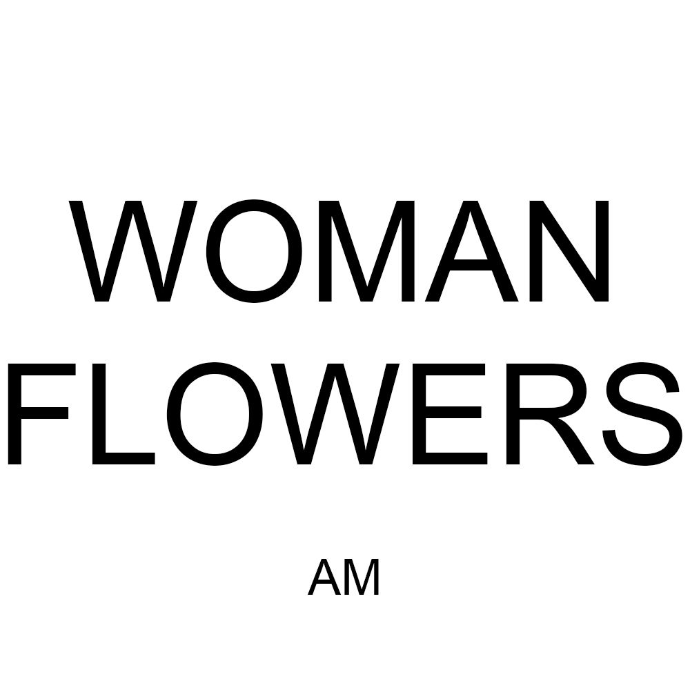 HDARTISAN Canvas Art Wall Picture Figure Painting Woman With FLowers For Living Room Home Decor No Frame