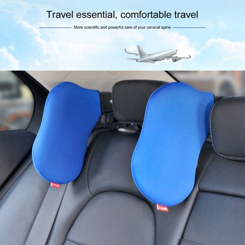 Car-styling 3 Colors High Quality Car Seat Headrest Neck Pillow Neck Safety Seat Support Neck Rest Seat Headrest Cushion Pad