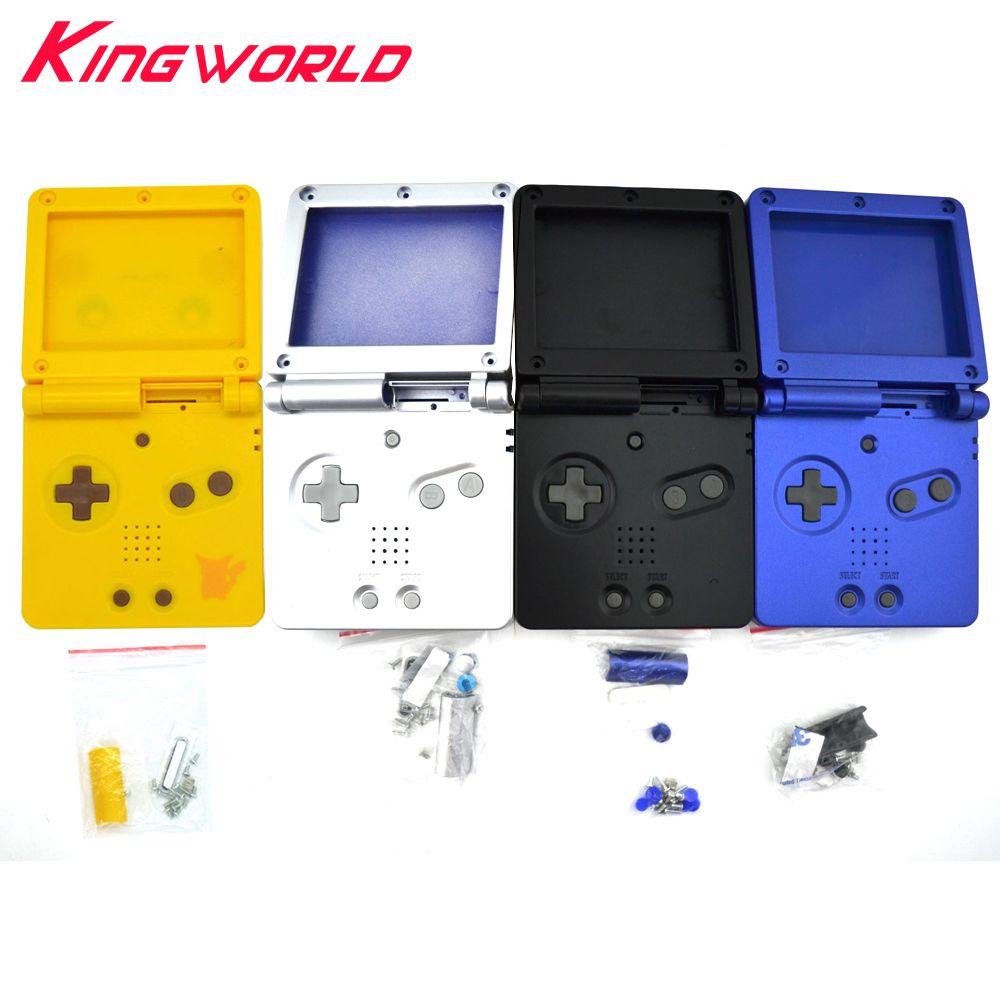 Quatre Couleurs disponibles Pour Nintendo GBA SP Pour Gameboy Couverture de Logement de Remplacement Complet Shell Pour Advance SP
