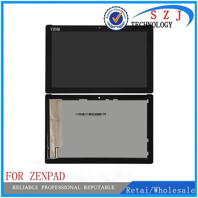 New 10.1 inch For ASUS ZenPad 10 Z300M LCD Display Touch Screen Digitizer Assembly Replacement Parts yellow connector