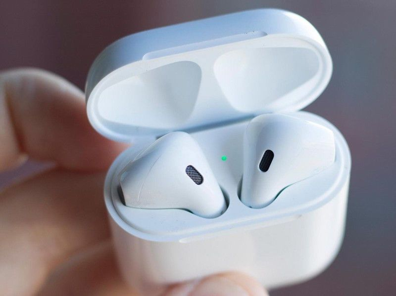 Bluetooth Earphone Earpiece In-Ear Mini Portable Wireless Music Earbuds Airpods Hands Free with Mic for IphoneX (1 pair white)