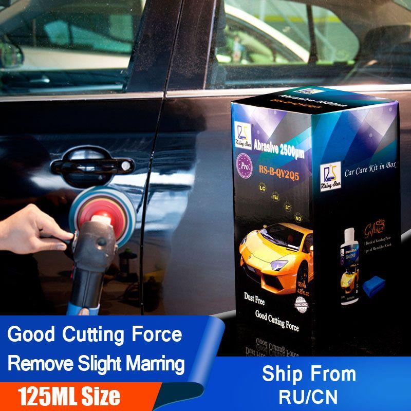 Rising Star RS-B-QY2Q5 Autolack Polieren Paste zu Entfernen Wirbelt und Kratzer Schleif 2500um 125 ml Kit für Profis
