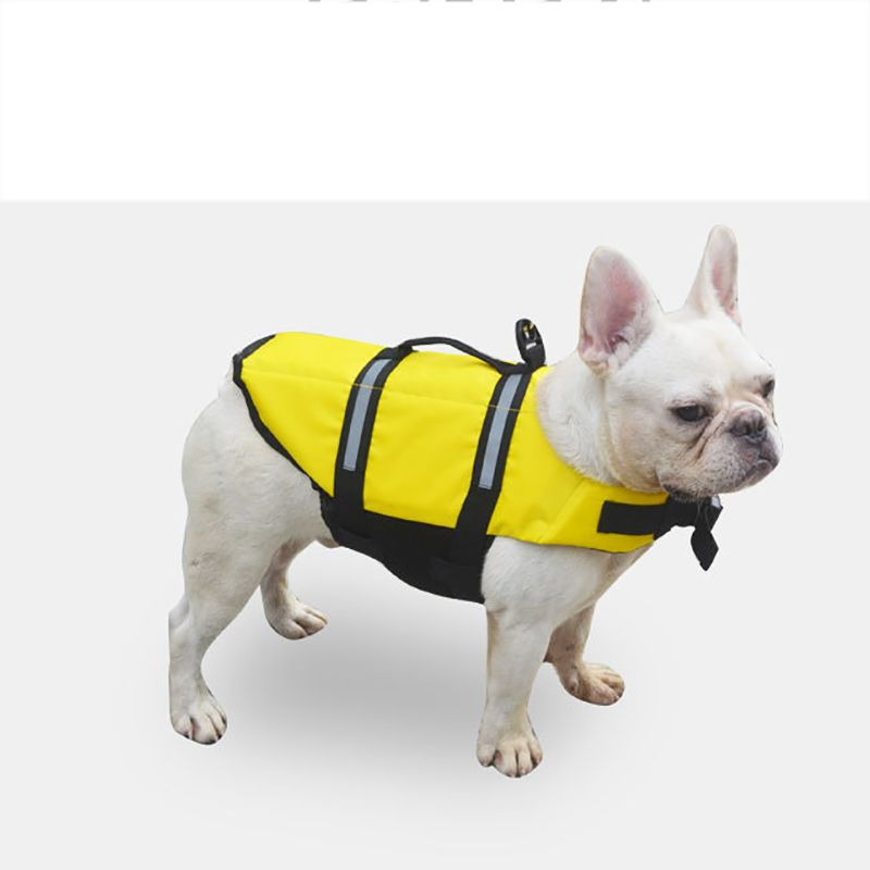 Venxuis Oxford Cloth Dog Life Jacket Nylon Safety Summer Swimming Dog Clothing Waterproof Life Jacket Dog Swimwear Strap XS-XXL
