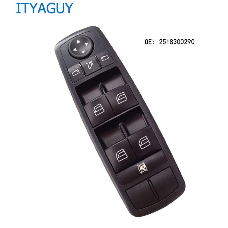 OE# 2518300290 Power Window Switch For benz* W164 GL320 GL350 GL450 ML320 ML350 ML450 ML500 R A2518300290 A251 830 0290